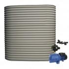 2000L Short Slimline Tank & Pump for Double Storey