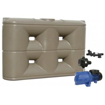 3000L Slimline Tank & Pump for Double Storey