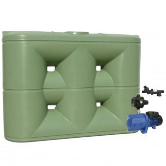 5000L Slimline Tank & Pump for Double Storey