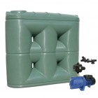 2000L Short Base Slimline Tank & Pump for Double Storey