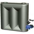 3000L Short Slimline Tank & Pump for Double Storey