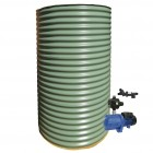 1500L Round Tank & Pump for Double Storey