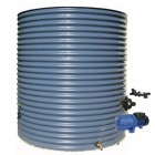 3000L Round Tank & Pump for Double Storey