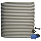 5000L Short Slimline Tank & Pump for Double Storey