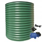 2000L Round Tank & Pump for Double Storey
