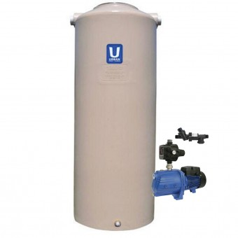 1000L Round Tank & Pump To Double Storey