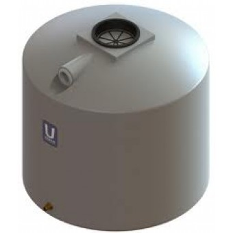 Urban Poly 1200L Squat Round Water Tank