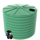 15,000L Round Tank & Rural Domestic Pump