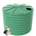 15,000L Round Tank & Pump To Double Storey