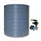 3000L Round Tank & Pump for Single Storey