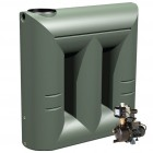 2000L Short Slimline Tank & Pump for Large garden