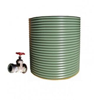 Colorbond Aquaplate CFA 10,000LT Steel Squat Water Tank