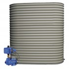 2000L Super Slimline Tank & Pump for Small Garden