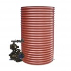 1500L Round Tank & Pump for Single Storey