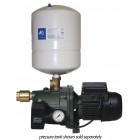 DAB 62MP Cast Iron Pump with Pressure Tank