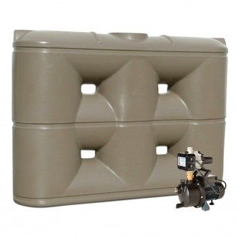 2000L Slimline Tank & Pump for Large Garden