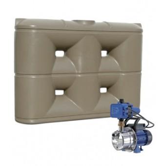 3000L Slimline Tank & Pump for Large Garden
