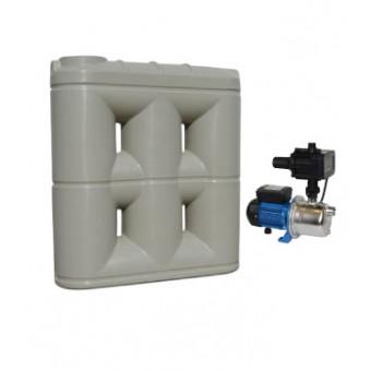 3000L Short Base Slimline Tank & Pump for Single Storey