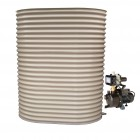 1000L Slimline Tank & Pump for Large Garden