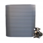 1500L Slimline Tank & Pump for Large Garden