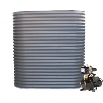 1500L Slimline Tank & Pump for Large Garden
