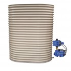 1000L Slimline Tank & Pump for Small Garden