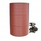 1000L Round Tank & Pump for Large Garden