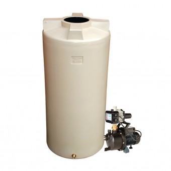 1050L Round Tank & Pump for Large garden