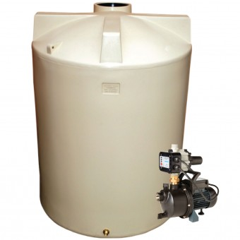3000L Round Tank & Pump for Large garden