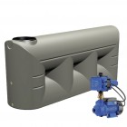 2000L Lowline Tank & Pump for Small garden