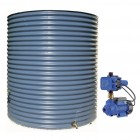 3000L Round Tank & Pump for Small Garden