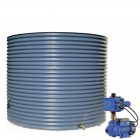 5000L Round Tank & Pump for Small Garden