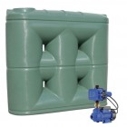 2000L Short Base Slimline Tank & Pump for Small Garden