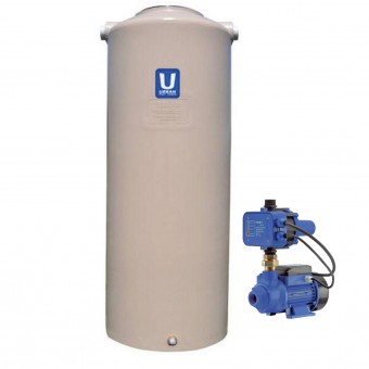 1000L Round Tank & Pump for Small garden