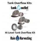 100mm Plain Tank Overflow Outlet Kit