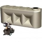2000L Lowline Tank & Pump for Medium garden