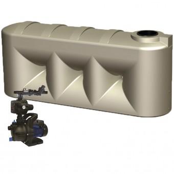 2000L Low Line Tank & Single Storey Pump