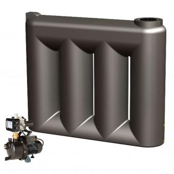 2000L Slimline Tank & Pump for Medium Garden