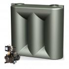 3000L Short Slimline Tank & Large Garden Pump