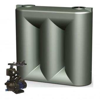 3000L Short Slimline Tank & Pump for Single Storey