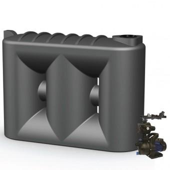 5000L Slimline & Pump for Single Storey